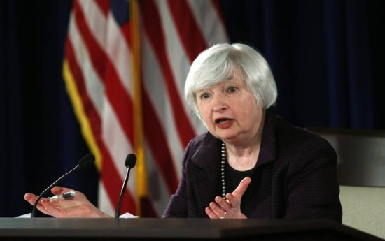 Presidente do Federal Reserve, Janet Yellen