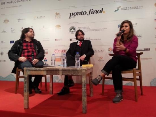 Brasil. Marcelino Freire, Felipe Munhoz e Carol Rodrigues
