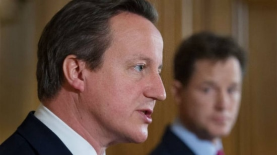 O premiê britânico, David Cameron