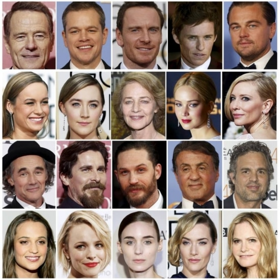 Atores e atrizes indicados ao Oscar 2016: sem diversidade
