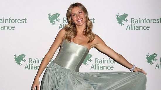 Gisele Bundchen attends the 2014 Rainforest Alliance Gala at the American Museum of Natural History on Wednesday, May 7, 2014, in New York. (Photo by Greg Allen/Invision/AP)