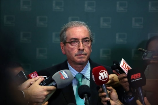O presidente da Câmara, Eduardo Cunha (PMDB-RJ)