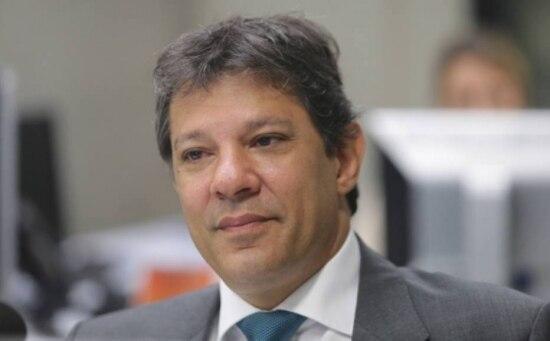 O prefeito de São Paulo, FernandoHaddad (PT)