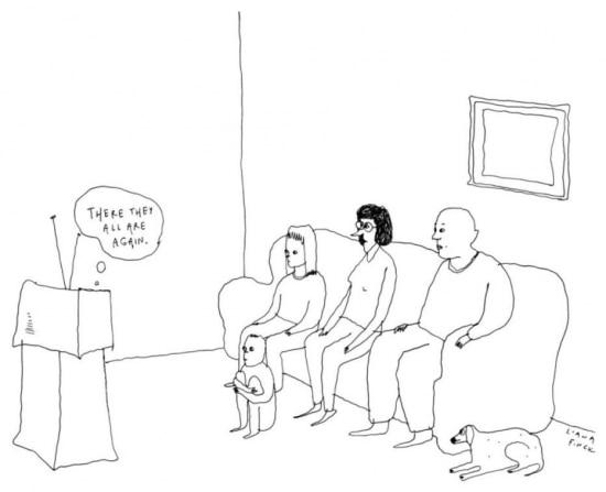 Os clássicos cartuns também estarão no programa