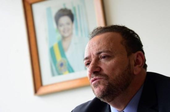 O ministro-chefe da Secretaria de Comunicação Social da Presidência da República Edinho Silva