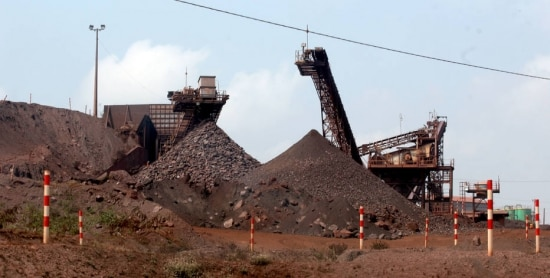 Peso. Mineração concentra 7% do PIB de Minas Gerais