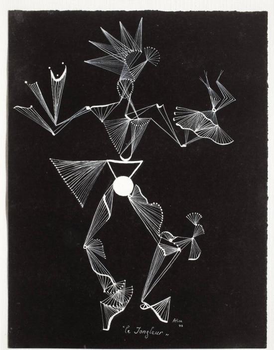 Obra 'El Juglar' (1946), da poeta e pintora francesa Alice Rahon
