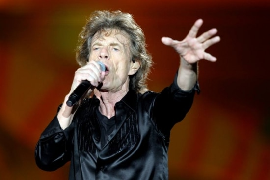 Mick Jagger e os Stones em show no Morumbi, São Paulo