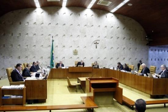 Plenário do STF, em Brasília