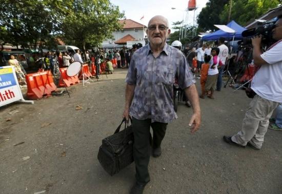 Pastor Carolusretirou os pertences de Gularte da prisão