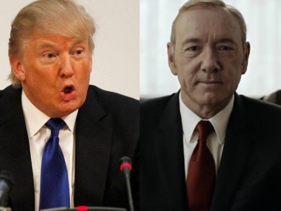 Donald Trump e Frank Underwood