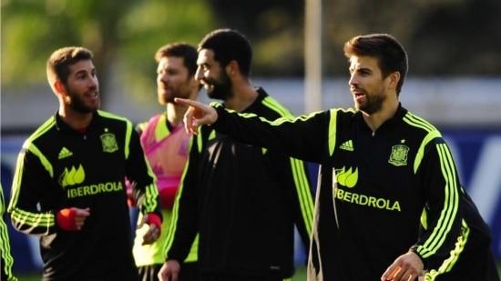 Espanha é a última colocada do Grupo B