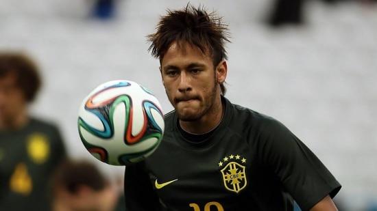 Neymar está ansioso para jogar a Copa e dar o título ao Brasil