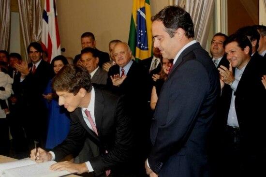 João Campos assume gabinete chefia do gabinete do governador de Pernambuco, Paulo Câmara (PSB)