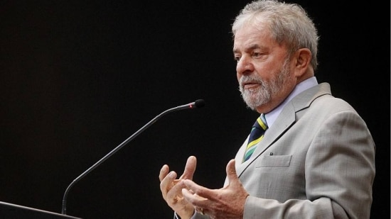 Ex-presidente Lula fala a empresários estrangeiros em evento na capital paulista