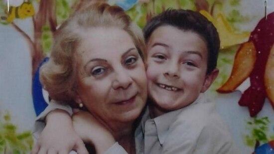 Avó Jussara Uglione e Bernardo Boldrini, morto em abril