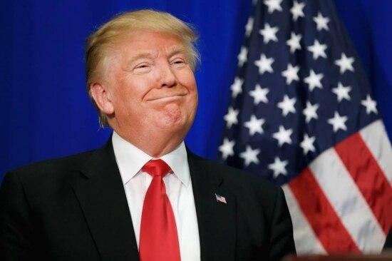 O polêmico magnata e pré-candidato à Casa Branca Donald Trump