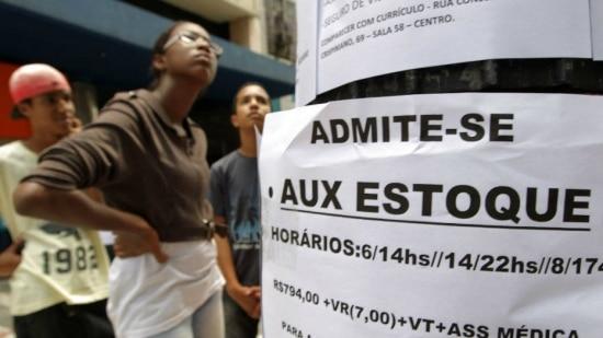 Mercado de trabalho se deteriora no País