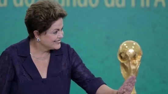 Dilma não fará discurso na abertura da Copa