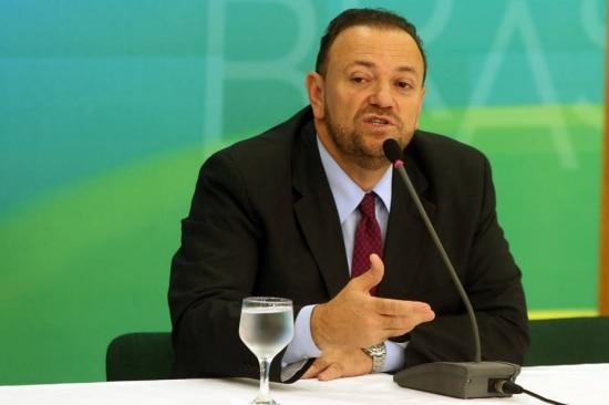 O ministro-chefe da Secretaria de Comunicação Social, Edinho Silva