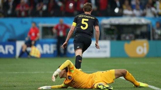 Gol serviu como redenção para Vertonghen na Bélgica