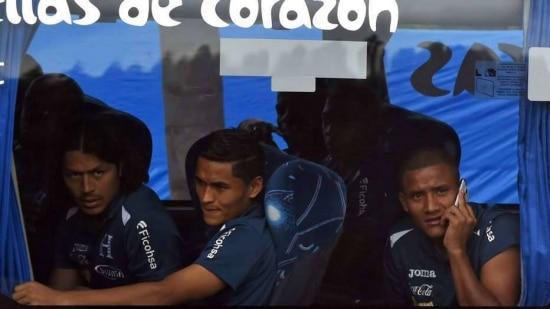 O time hondurenho desembarcou no