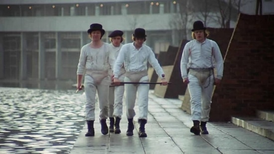 """O longa """"Laranja Mecânica"""", clássico de Kubrick, vai ser exibido no """"Noitão"""""""