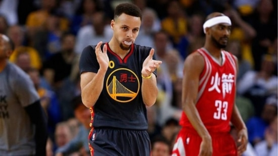 Stephen Curry anotou 35 pontos na vitória do Golden State Warriors