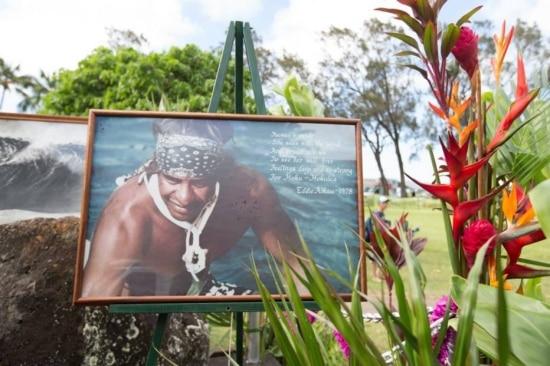 Memorial de Eddie Aikau fica em Waimea