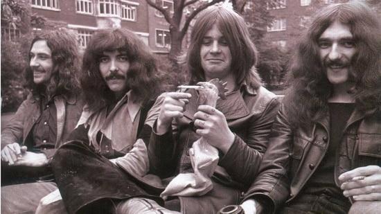 Black Sabbath em 1971, em seu auge