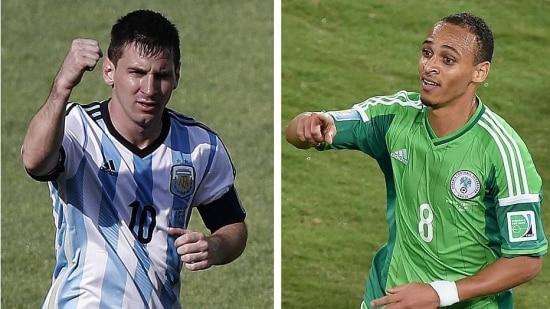 Messi e Odemwingie vêm sendo decisivos para suas respectivas seleções