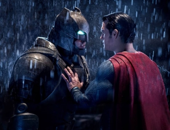Cena de Batman vs Superman