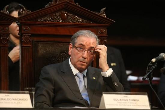 Cunha já foi denunciado ao Supremo Tribunal Federal por corrupção e lavagem de dinheiro.