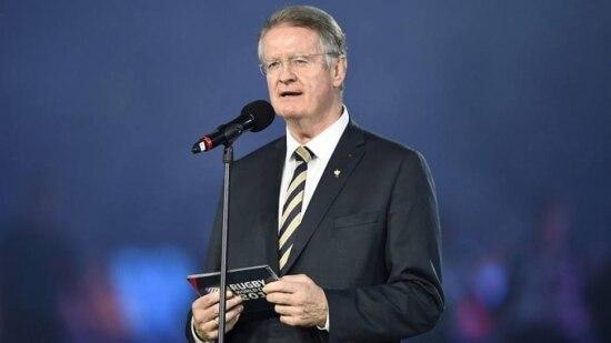 Bernard Lapasset, copresidente do comitê de candidatura para Paris-2024