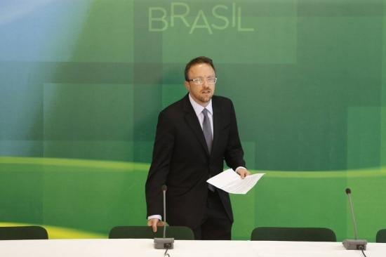 Thomas Traumann em evento oficial do governo, no ano passado