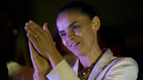 A candidata à Presidência da República pelo PSB, Marina Silva