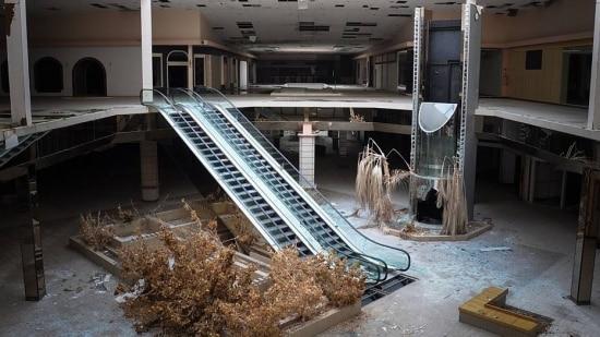 Shopping em Ohio, o terceiro Estado a ter o maior número de centros comerciais abandonados