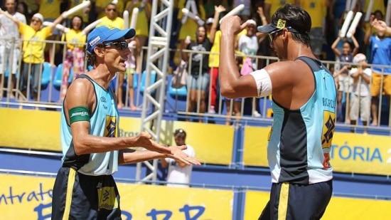 Ricardo e Emanuel conquistaram o ouro na etapa de Vitória do circuito