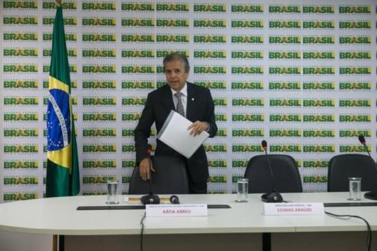 O ex-ministro da Secretaria Especial de Portos, Edinho Araújo