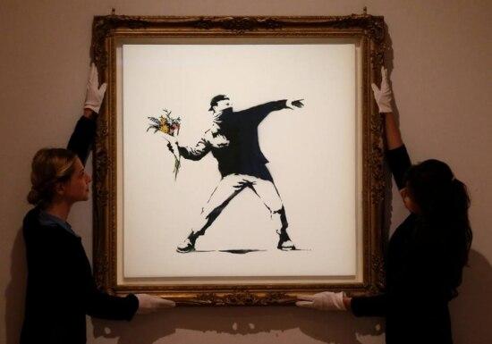 Obra do artista britânico Banksy