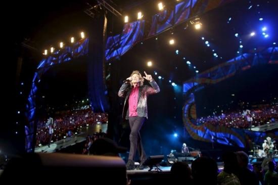 'Os tempos estão mudando, não?', disse Mick Jagger durante apresentação