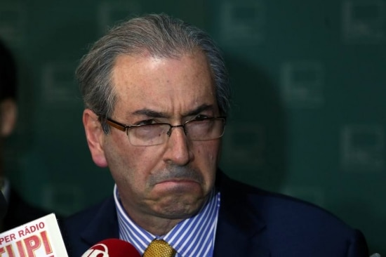 O presidente da Câmara,Eduardo Cunha (PMDB-RJ)
