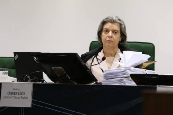 A vice-presidente do Supremo Tribunal Federal (STF), Cármen Lúcia