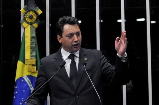 O relator da CPI dos Fundos de Pensão, deputado Sérgio Souza (PMDB-PR)
