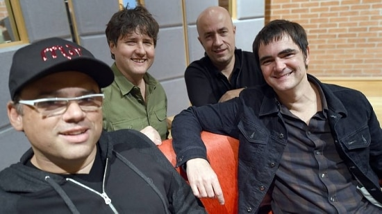 Quarteto unido. Com 23 anos de estrada, banda ainda produz hits