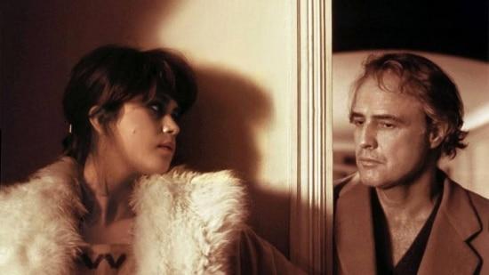 """Marlon Brando em cena de """"Último Tango em Paris"""""""