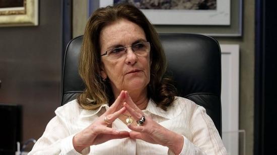 A ex-presidente da Petrobrás, Graça Foster
