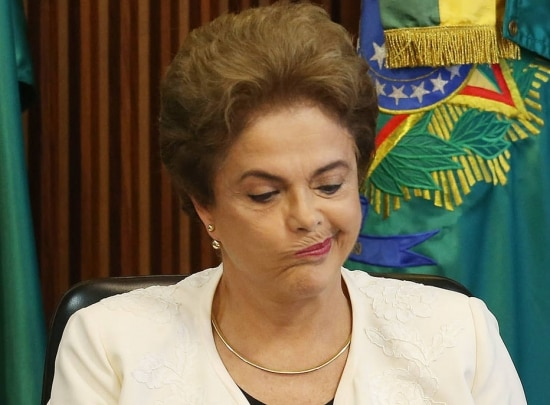 Dilma fez pronunciamento após divulgar nota