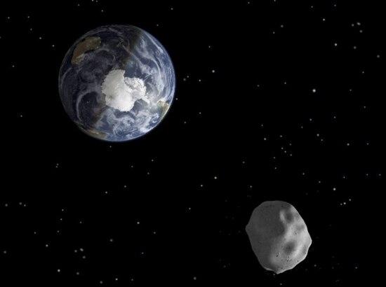 Passagem de asteroide pode ser oportunidade para ampliar estudo sobre os corpos celestes. Na foto, oasteroide 2012 DA14