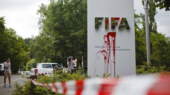 Prédio da entidade em Zurique, na Suíça, ficou pouco danificado